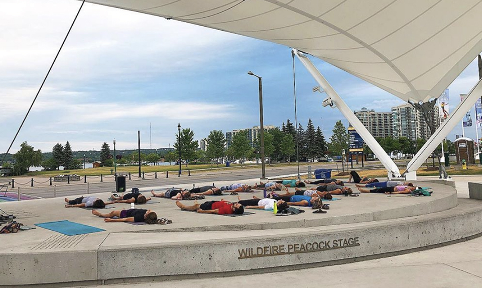 Ann_Green_Yoga_Mindful_Monday_Meridian_Place_Downtown_Barrie